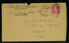 Puerto Rico 1920 Cover Rio Piedras to Reading, Pa franked Scott 499 w/ enclosure