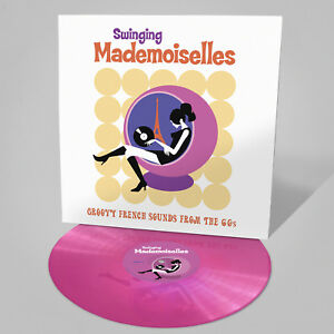 Swinging Mademoiselles 1960s French Pop - Pink vinyl