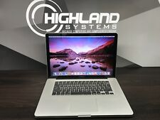APPLE MACBOOK PRO 15 PRE-RETINA QUAD CORE i7 / 16GB RAM / 1TB SSD / WARRANTY