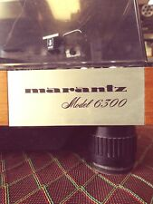 Marantz 6300 Turntable