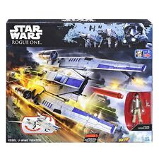 Hasbro Nerf B7101 Star Wars Rogue One Rebel U-Wing Fighter Vehicle Toy