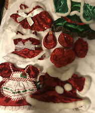New ListingBuild A Bear Workshop Girl's Christmas Party Clothes And Shoes