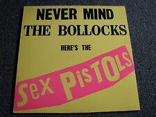 Sex Pistols-Never Mind the Bollocks LP-1977/1985-Belsen was a Gas-12 Track-UK