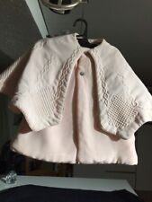 ANTIQUE silk, coat for FRENCH doll  Jumeau Steiner Bru antique lace 13-15