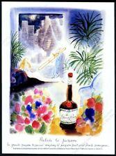1988 Jean Jacques Sempe art La Grande Passion liqueur vintage print ad