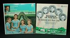 2 Vintage Christian Music LPs Lennon Sisters + Statesmen With Hovie Lister