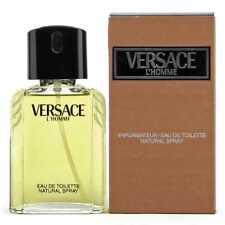 Versace L'homme 3.2 oz / 100 ml Eau de Toilette Spray Original Formula