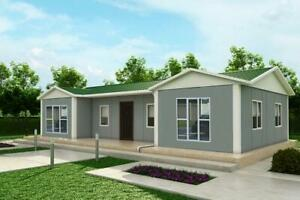 Modular Building, Sectional House, Prefab, Kit Home, Ideal Self Build - 95 sqm