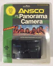 Ansco Pix Panorama 35mm Camera, Reusable, Uses Regular Film