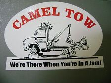 Camel Tow sticker for Hot rods, Gasser, Rat Rods