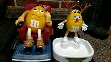 2 VINTAGE M&M CANDY DISPENSERS