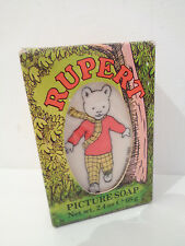VINTAGE 1985 RUPERT THE BEAR PICTURE SOAP - COLLECTABLE - UNUSED IN BOX