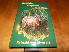 BUFFALO ELEPHANT BONGO Safari Hunt Hunting Africa Big-Game Hunter Gun Book NEW