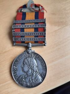 Queen's South Africa Medal, Weldin, Imperial Yeomanry