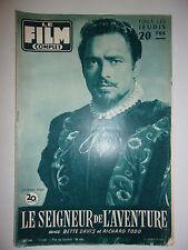 LE FILM COMPLET N°560 1956 LE SEIGNEUR DE L'AVENTURE / BETTE DAVIS - R. TODD