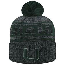 cheaper 1307c 2fd50 Miami Hurricanes Top of The World Cuffed Knit Hat Sock It 2 Me