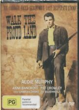 WALK THE PROUD LAND -   Audie Murphy, Anne Bancroft, Pat Crowley -  DVD