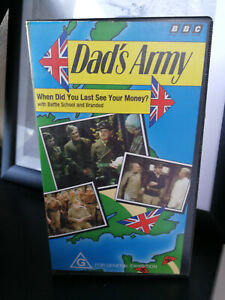 Dad's Army: When did you last see your money? VHS BBC G rating VGC