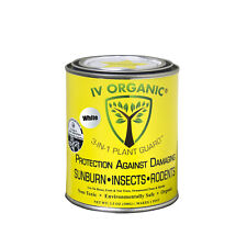 IV Organic 3-in-1 Plant Guard, 1 Pint (WHITE)