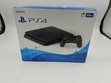 New Sony PlayStation 4 Slim 500GB Jet Black -AS0049