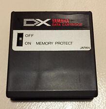Yamaha DX7 DX RAM DATA Cartridge For DX-7 Mk1 Synthesizer