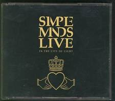 SIMPLE MINDS Live In The City Of Light 1987 2-CD  FAT BOX CDSM1 NIMBUS MASTER