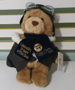 RACQ CAREFLIGHT TEDDY BEAR PLUSH TOY 10 YEARS OF PILOT BEAR!
