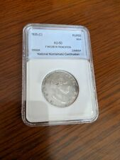 1835 India  1 Rupee coin  Silver coin  About UNC