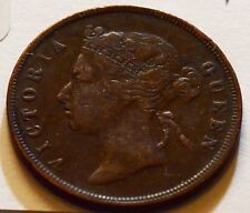 S0058 Straits Settlements  1889 Cent   combine shipping