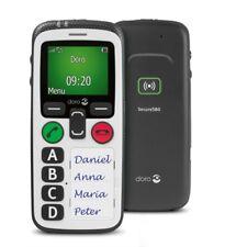 Doro Secure 580 weiß Seniorenhandy mobiles Notfalltelefon Freisprecheinrichtung