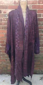 phens silk cambodian robe one size