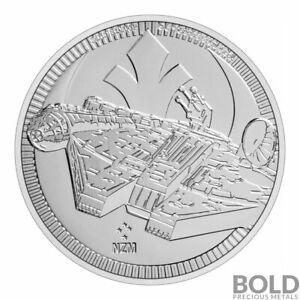 2021 - Niue Star Wars Millennium Falcon 1 oz .999 FINE Silver COIN BU PRESALE