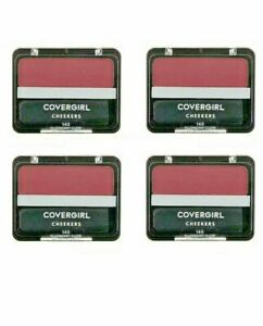4 Covergirl Cheekers Plumberry Glow Blush 140 Lot of 4