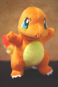 "8"" Pokemon Charmander Plush Doll Teddy Stuffed Soft Toy Kids Cute Christmas Gift"