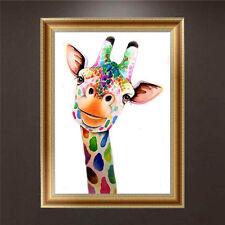 DIY 5D Diamond Painting Giraffe Embroidery Cross Stitch Craft Home Decor