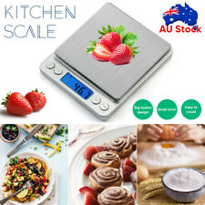 Kitchen Digital Scale LCD Electronic Balance Food Weight Postal Scales 0.01-500g