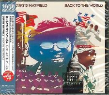 CURTIS MAYFIELD-BACK TO THE WORLD-JAPAN CD Ltd/Ed B50