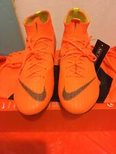 Nike Mercurial Superfly 6 VI Elite FG 360 Total Orange AH7365 810 Size 11