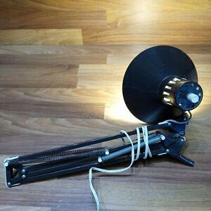 Vintage Swing Arm Articulating Desk Lamp Architect Drafting Adjustable Brown