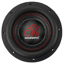"Massive Audio HIPPOXL84 8"" WOOFER 1000W DVC 4 OHM 500W RMS"