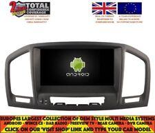 Autoradio DVD GPS Navi BT ANDROID 7.1 DAB + VAUXHALL OPEL INSIGNIA H5753 Marron