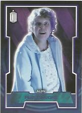 """Topps Doctor Who 2015 - No. 90 """"Plasmavore"""" Purple Parallel Card #64/99"""