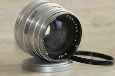 JUPITER-8 2/50 M39 soviet lens USSR Sonnar LEICA +gift adapter ring m39 /m42