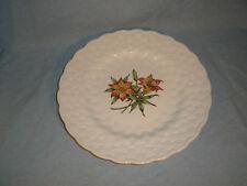 Spode Canadian Centennial Provincial Flowers Saskatchewan Prairie Lily Plate