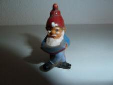 Ü Ei Ferero 1988 Zwerg Gartenzwerg mit Buch Weihnachtsmann