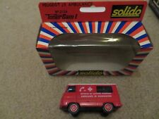 Solido Toner Gam I Peugeot J9 Ambulance #2126 Nice with Box See My Store