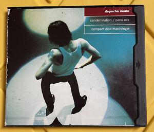 Depeche Mode Condemnation/Rush CD Single, Released/Recorded 1993 Sire