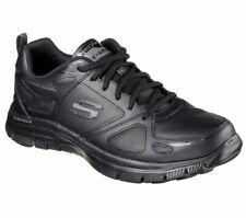 SKECHERS Flex Advantage, Sneakers Casual Man, Uomo, Black, Memory Foam, 51461