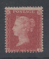 Vic - SG40. 1d red. Die II. White paper. Large Crown watermark. Unmounted mint.