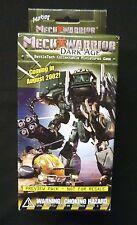 Wizkids MechWarrior Dark Age Preview Booster Factory Sealed Pack 2002 BattleTech